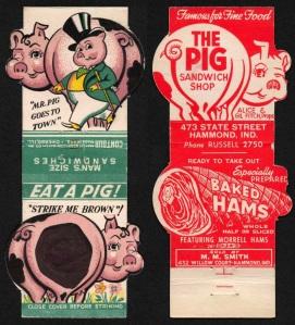 Pigs advertisement